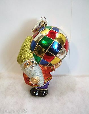 Slavic Treasures Ornament Fresh Delivered Ornament Glass Poland NIB (S5)