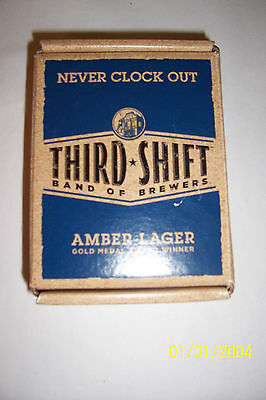 Third Shift Amber Lager Pocket Watch - New