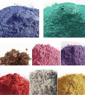 DIY Mineral Mica Powder Soap Dye Glittering Soap Colorant Pearl Powder 50g
