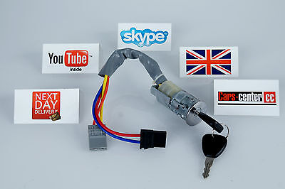 Renault Kangoo Years 98 07 Ignition Lock Barrel New Switch Keys Start Key Luv*