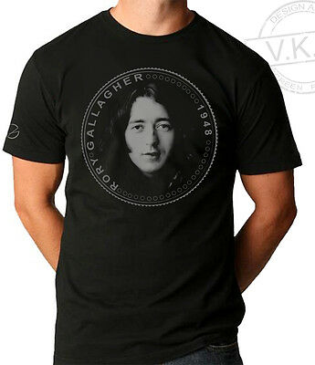 RORY GALLAGHER Irish guitar hero Cool Coin T shirt by V.K.G.