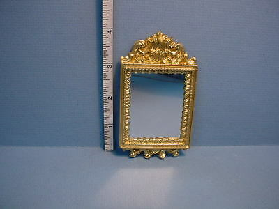 Frame 2 Frames Gold Gilded Art Painting Drawing 1:12 Dollhouse Miniature #A1053