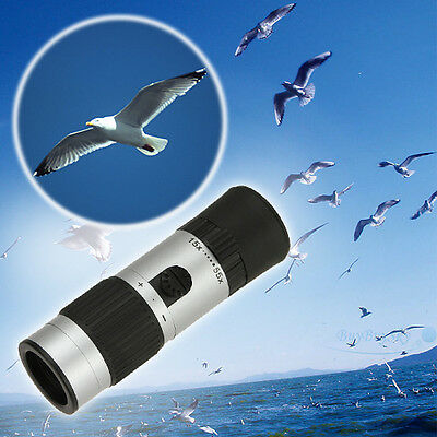 Compact Pocket Monocular 55X Zoom Camping Hiking Hunting Telescope Outdoors Mini