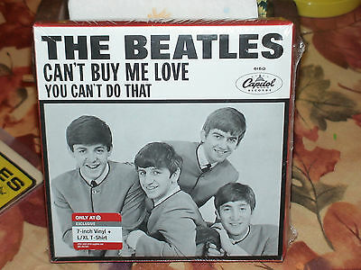 The Beatles - Can't Buy Me Love / You Can't Do That 45 RPM Re-Issue Target
