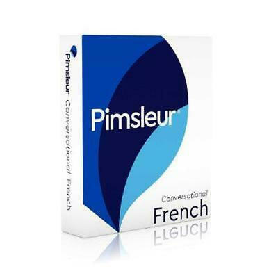 Pimsleur Conversational French by Pimsleur Compact Disc Book (English)