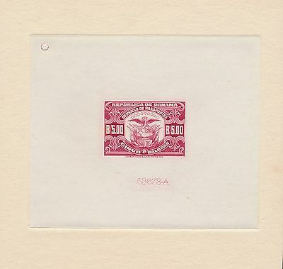 Panama Passport Stamp Die Essay On India Paper Xf Br2644 Hsfp