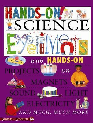 Hands On! Science Experiments by Sue Lacey Paperback Book (English)