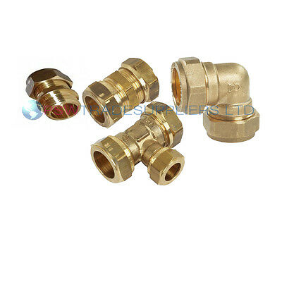 8mm/10mm /15mm  Brass Compression Fittings