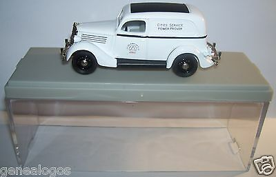 Rextoys Ford V8 1935 Cities Service Power Prover In Box 1/43