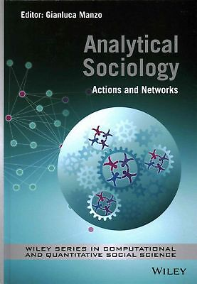 Analytical Sociology: Actions and Networks by G. Manzo (English) Hardcover Book