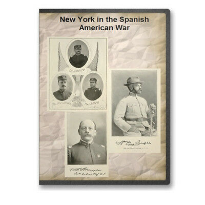 New York in the Spanish American War 3 Volumes +Index Military Genealogy CD B441
