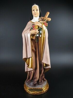 Heilige Therese Theresa,31 cm,Heiligenfigur Poly Figur,NEU