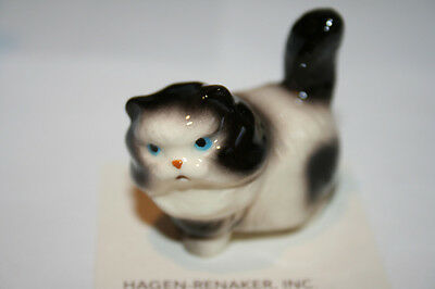 Hagen Renaker,Fat,Cat,Black&White,Miniature,Figurine,Brand New,2014,FreeShipping