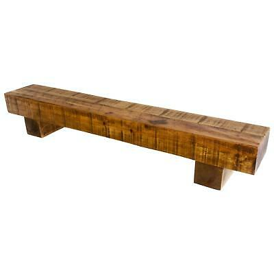 Solid Wood Mantle Shelf Shelves Fire Surround 4 inches thick by 8 deep
