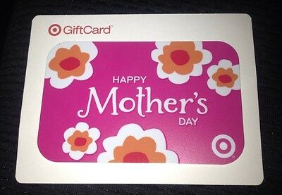Target Gift Card Happy Mother's Day Pink No Value Collectible U.s. 2011 New