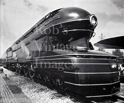 Pennsylvania Railroad S-1 Bullet Steam Train #6100 6-4-4-6 Photo print PRR