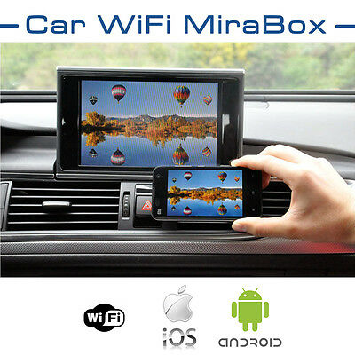 CAR Wi-Fi IPHONE AIRPLAY, ANDROID MIRACAST & SCREEN MIRRORING FOR CAR STEREOS
