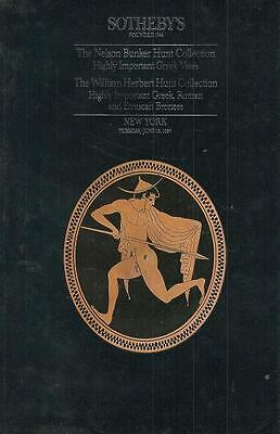 Sohteby Bunker Hunt Greek Roman Etruscan Vases Bronzes Auction Catalog