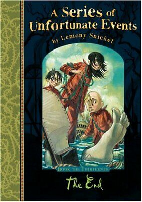 The End (A Series of Unfortunate Events) by Snicket, Lemony Hardback Book The