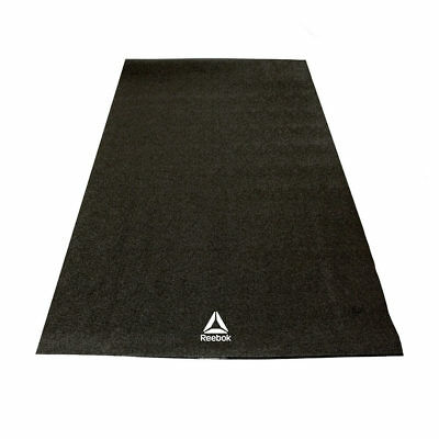 Reebok Bike and Cross Trainer Floor Mat Cardiovascular Exercise Gym Fitness