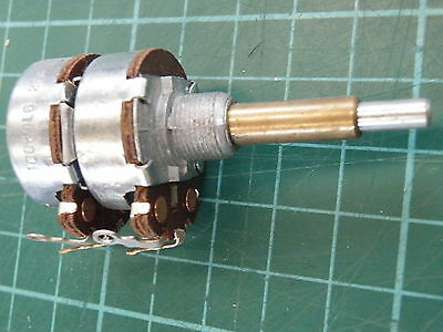 Dual Concentric Pot Potentiometer AB 100K Log Dual Concentric Spindle DUCG-100K