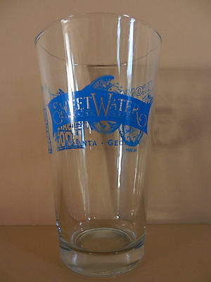 Sweetwater Brewing Company Save the Hooch Pint Beer Glass Atlanta Georgia