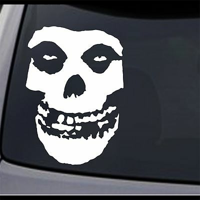 3 Pack - Misfits Fiend Skull Permanent Vinyl Decal Sticker