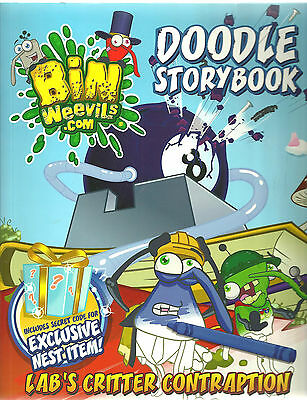 Bin Weevils Doodle Story Book: Lab's Critter Contraption by Rachel Elliot,...