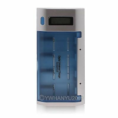 New Digital Universal Quick Charger for D / C / AA / AAA /9V