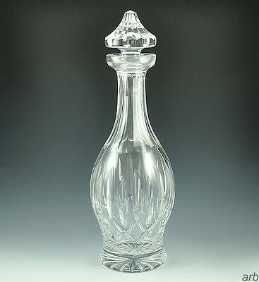 Exceptional Cut Glass/Crystal Decanter Waterford Kildare Pattern