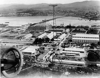 Photo. 1920-1. Sky View United States Navy Yard, Mare Island