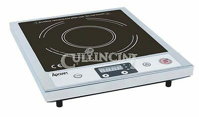 Adcraft Induction Cooker Glass Stainless Steel Commercial - Ind-A120V