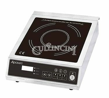 Adcraft Induction Cooker Glass Stainless Steel Commercial - Ind-E120V
