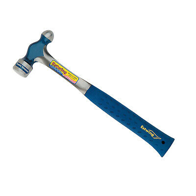Estwing E3-16BP Solid Steel 16oz Ball Peen Hammer with Nylon Grip