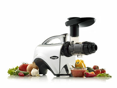Omega Nc900Hdc Juicer- Heavy Duty Juice Extractor Machine- Nc 900 Hdc-Wheatgrass