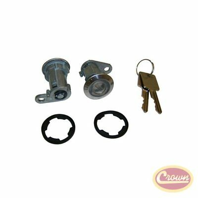 Door Cylinder Kit (2 Cylinders w/ Keys) - Crown# 8122874K2