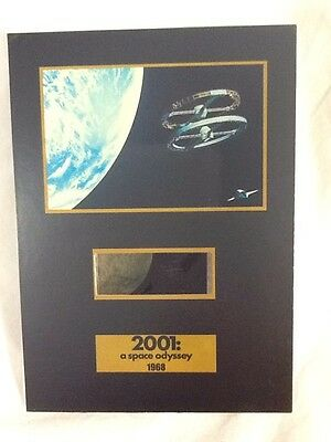 """NEW  2001 Space Odyssey Collection 5"""" x 7"""" SENITYPE FILM CELL & ART"""