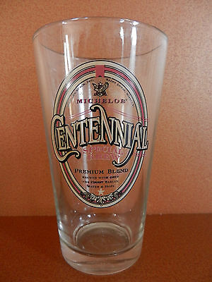 Michelob Centennial Special Brew Pint Beer Glass USED