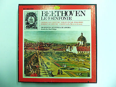 Beethoven - Le Nove Sinfonie Box 9 Lp Orchestra Sinfonica Di Londra Josef Krips