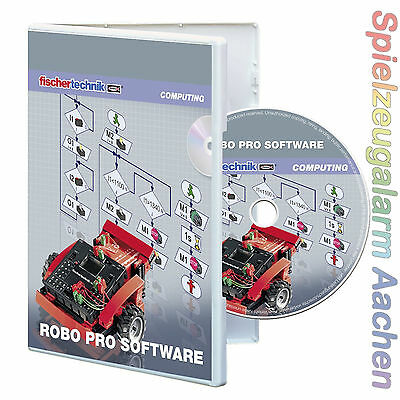 Fischertechnik 93296 COMPUTING PLUS ROBO Pro Software Windows XP Vista 7 8 BINSB