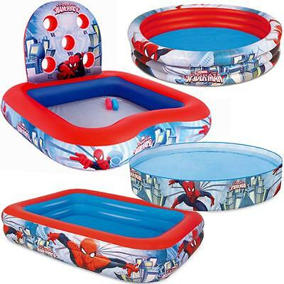 Spiderman Swimming Pool Kids Family Garden Game Outdoor Inflatable Paddling Pool