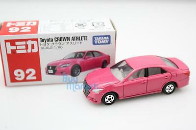 Takara Tomy Tomica #92 PINK Toyota Crown Athlete  Scale 1/66 Diecast Toy Car