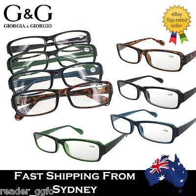 Mens Ladies Full Rim Magnifying Reading Glasses Bulk Sale Available +1.0~+3.5