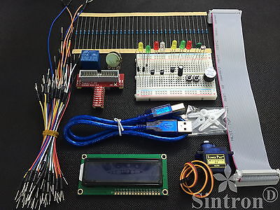 Sintron] GPIO Extension Board Starter Kit with LCD 1602 Relay for Raspberry Pi B