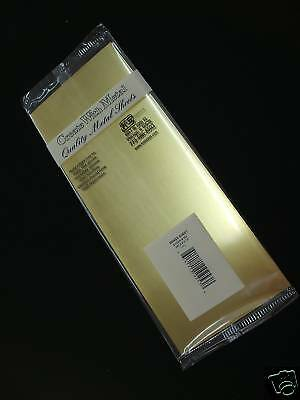 K&S Metal Brass Sheet 0.25 x 100 x 254mm  KS251