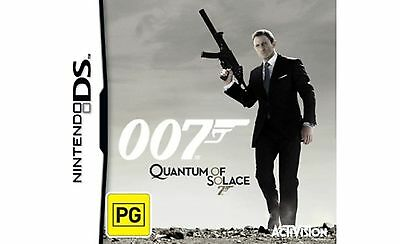 Quantum of Solace 007 (NINTENDO DS) BRAND NEW SEALED