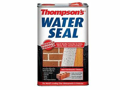 Ronseal Thompsons Water Seal Protector Bricks Mortar & Concrete - 1 Litre