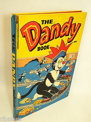 The Dandy Book Annual 1976, Korky the Cat/Desperate Dan/Bully Beef  R&L