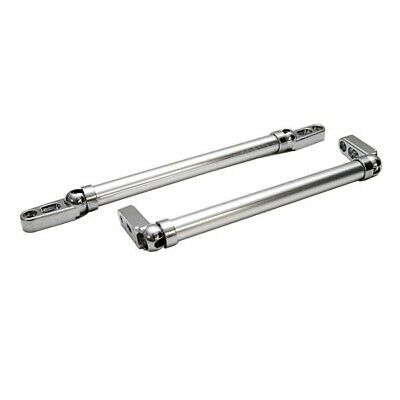 Rinker 10 1/8 Inch Aluminum Boat Windshield Support Brackets (Pair)
