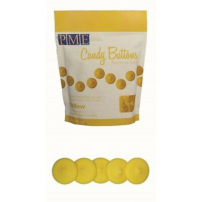 PME 12oz YELLOW Candy Button Melts Pops Sugarcraft Cake Decoration Dip